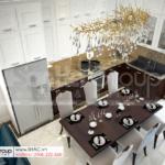14 không gian nội thất bếp trong biệt thự hiện đại diện tích 92m2 tại Hải Phòng SH BTD 0082