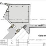 17 bản vẽ công năng sử dụng tầng lửng lầu 2 của thiết kế trung tâm tiệc cưới tại Đồng Nai SH BCK 0053