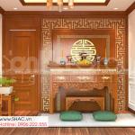 19 phòng thờ nghiêm trang của thiết kế nhà phố tân cổ điển tại Hải Dương SH NOP 0216