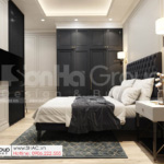 20 thiết kế phòng ngủ 2 trong biệt thự hiện đại SH BTD 0082