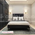 22 nội thất cao cấp của phòng ngủ biệt thự mặt tiền 8m SH BTD 0082