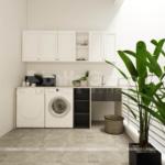 27 phòng giặt tiện lợi và khang trang trong biệt thự mặt tiền 8m SH BTD 0082