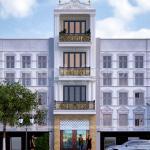 37 kiến trúc mặt tiền thiết kế nhà phố tân cổ điển tại Hải Dương SH NOP 0216