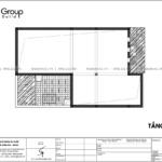 6 tầng áp mái thiết kế biệt thự hiện đại BTD 0082