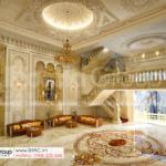 7 thiết kế nội thất sảnh trung tâm tiệc cưới mặt tiền 16m tại Đồng Nai SH BCK 0053