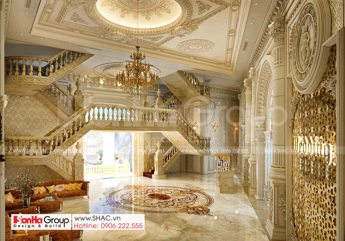 Không gian sang trọng và đẳng cấp trong thiết kế trung tâm tiệc cưới tại Đồng Nai