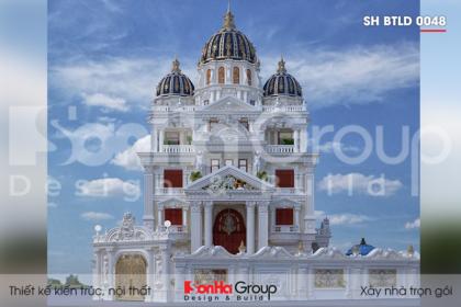 BIA mẫu biệt thự lâu đài tại cần thơ sh btld 0048