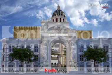 BIA Thiết kế trung tâm tiệc cưới 2000m2 tại Đồng Nai SH BCK 0053