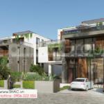 1 thiết kế biệt thự hiện đại đẹp tinh tế tại Quảng Ninh SH BTD 0083