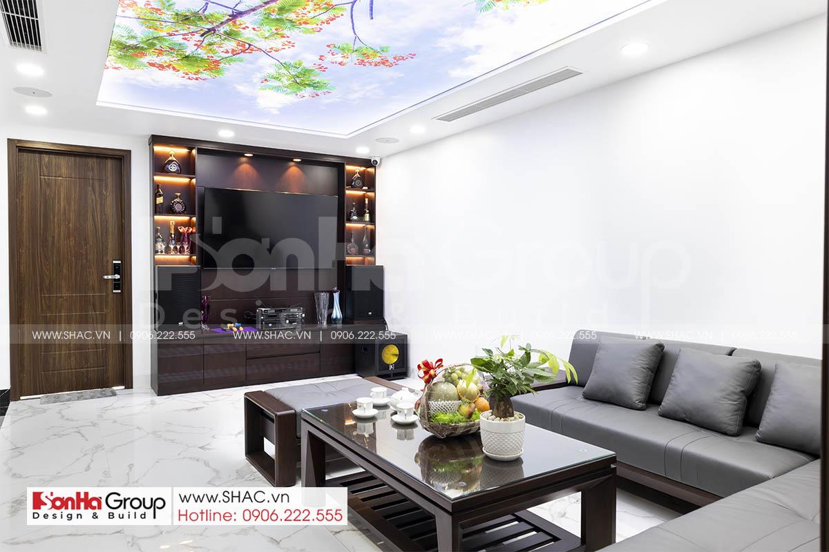 Gợi ý thiết kế thi công phòng khách đẹp tại Hải Phòng