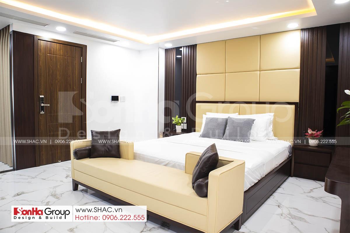 Thiết kế thi công nội thất phòng ngủ tại Waterfront City Hải Phòng