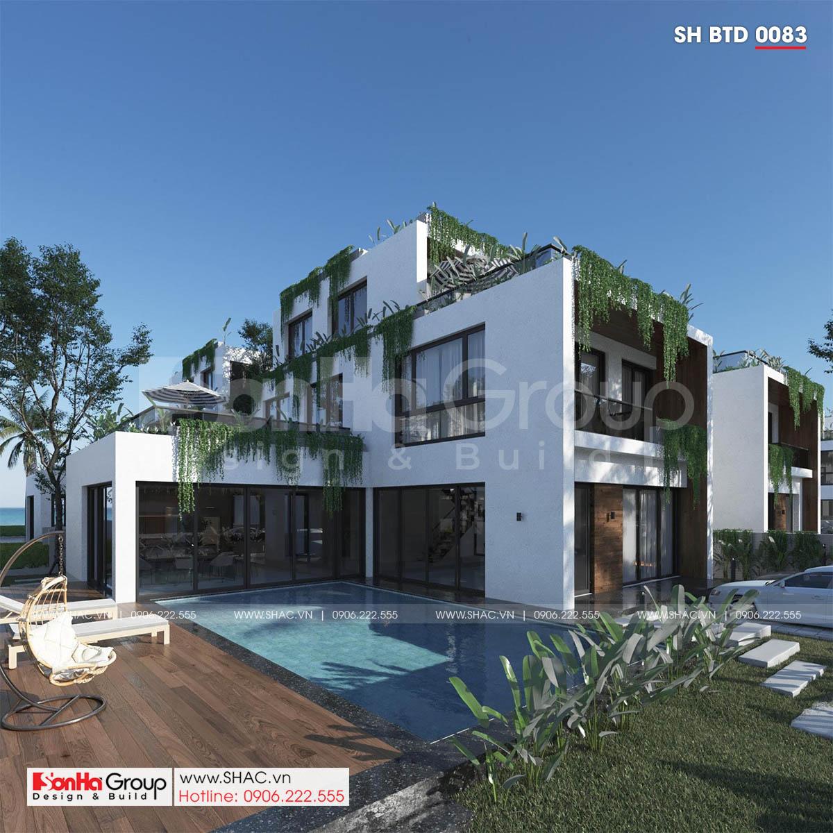 Cuộc sống như mơ trong ngôi biệt thự nghỉ dưỡng 500m2 thiết kế hiện đại tại KĐT Phương Đông Vân Đồn (Quảng Ninh) 2