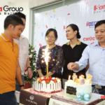17 khoảnh khắc đẹp khi tổng giám đốc Sơn Hà Group cắt bánh sinh nhật