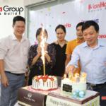18 cắt bánh mừng sinh nhật tổng giám đốc Sơn Hà Group