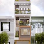 2 mặt tiền 5m nhà phố hiện đại tại Hải Phòng SH NOD 0225
