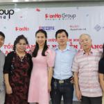 23 gia đình tổng giám đốc Nguyễn Hoàng Long trong bữa tiệc sinh nhật