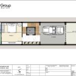 3 công năng sử dụng tầng 1 nhà phố hiện đại diện tích 80m2 tại Hải Phòng SH NOD 0225