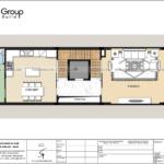 4 thiết kế mặt bằng tầng 2 nhà phố hiện đại tại Hải Phòng SH NOD 0225