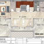 7 Thiết kế công năng tối ưu tầng sân thượng biệt thự tân cổ điển tại sài gòn SH BTP 0163