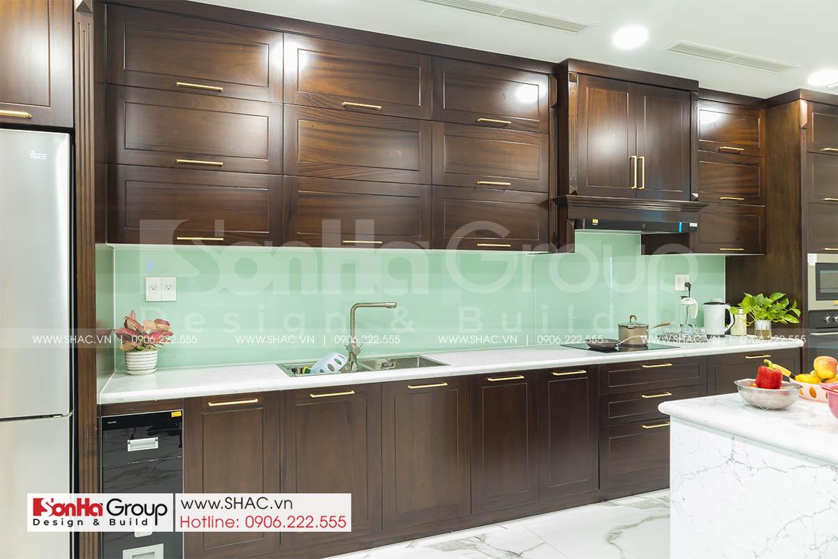 Thiết kế thi công nội thất tủ bếp sang trọng tại Hải Phòng