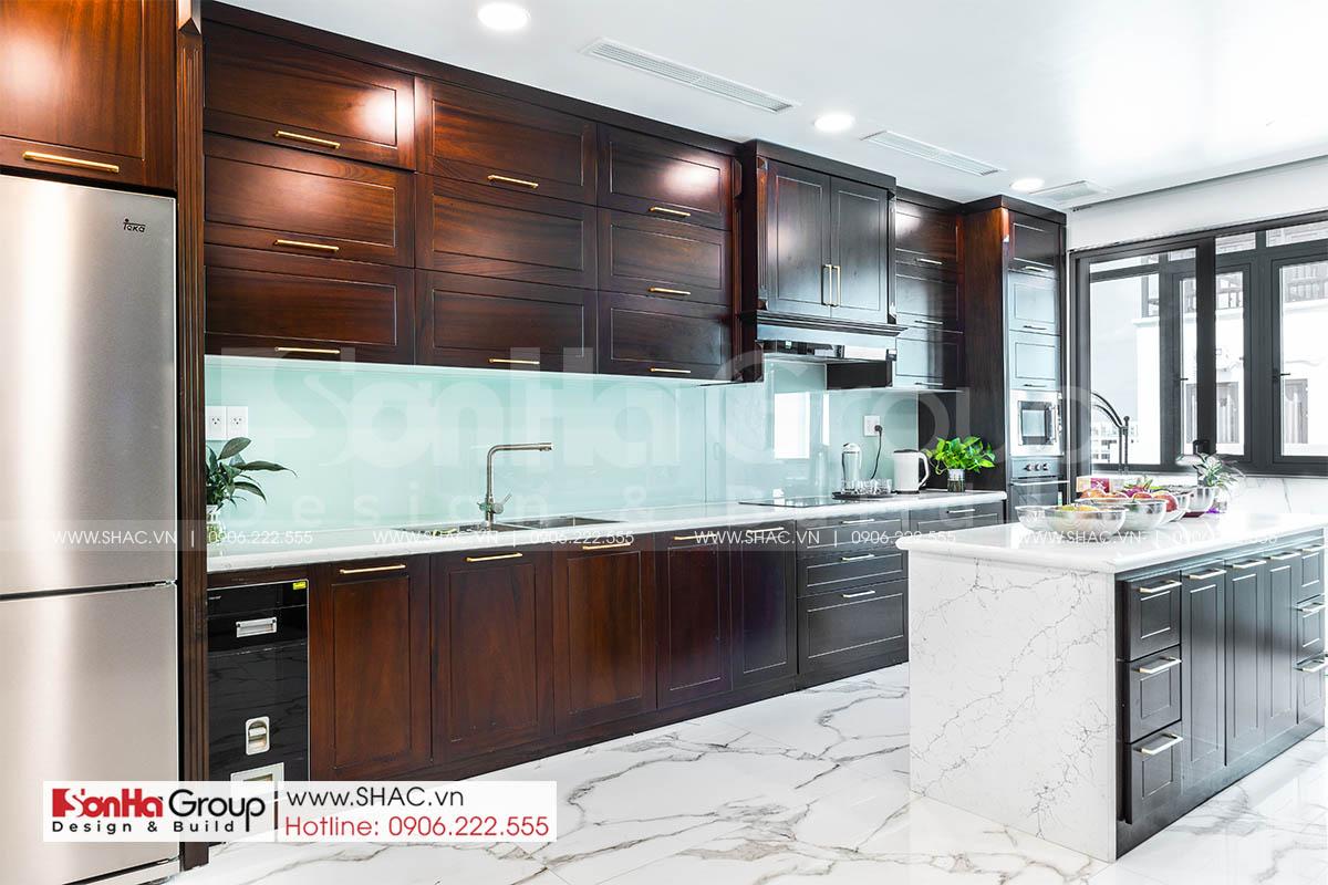 Căn bếp vạn người mê trong thiết kế nội thất nhà phố Hải Phòng