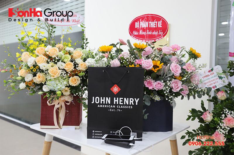 9 khu quà tặng nhiều màu sắc của bữa tiệc mừng sinh nhật CBNV Sơn Hà Group
