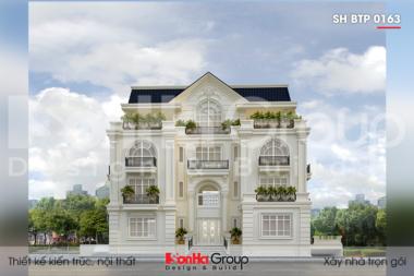 BIA Thiết kế biệt thự tân cổ điển 250m2 tại Sài Gòn SH BTP 0163