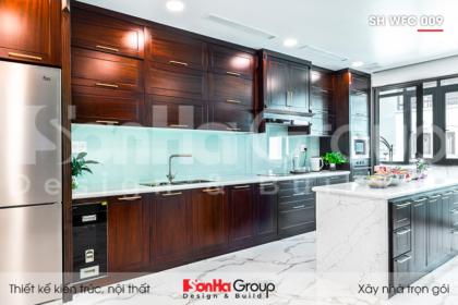BIA Từ thiết kế đến hoàn thiện nội thất nhà phố hiện đại 5 tầng 90m2 tại dự án KĐT WaterFront City