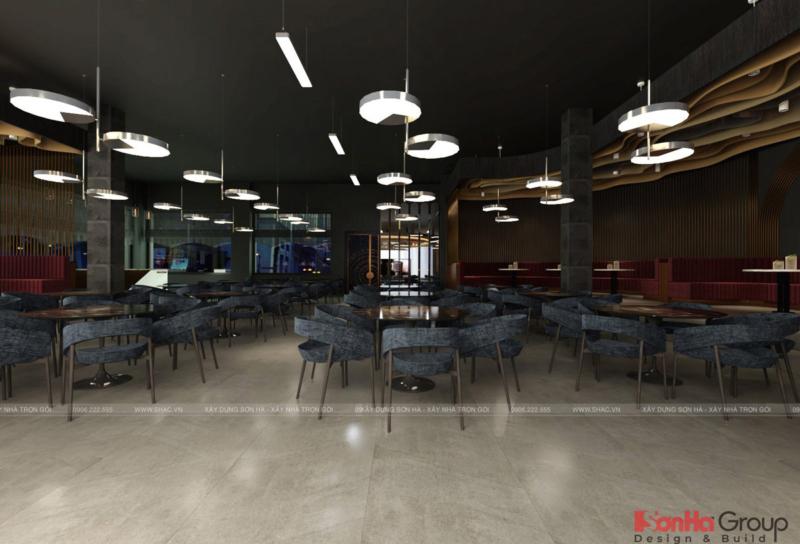 Không gian phòng trà phục vụ đến 300 khách