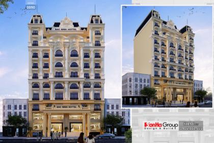 Khách sạn 9 tầng rộng 300m2