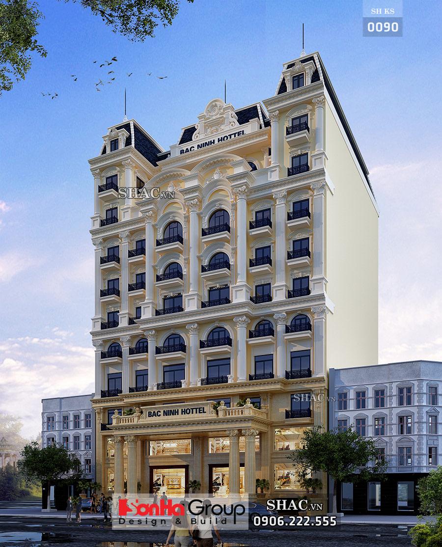Khách sạn mặt tiền rộng 23m