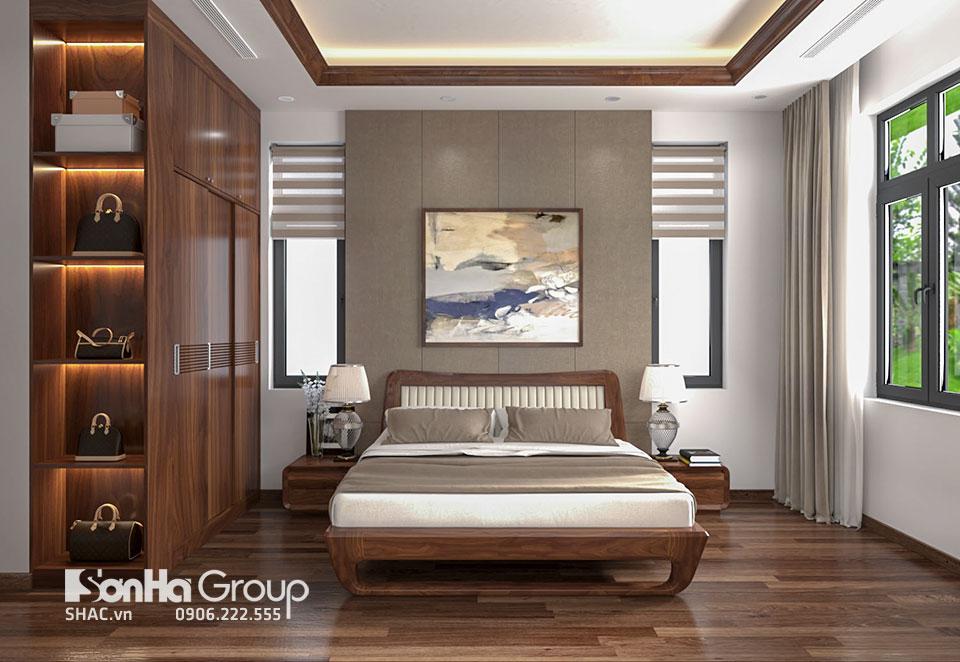 Phòng ngủ nhỏ thoáng